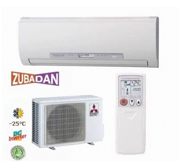 Mitsubishi <font color=violet>ZUBADAN</font> MSZ-FD25 VA / MUZ-FD25 VABH - <font color=violet>The guaranteed heating operation range of the heating mode has been extended to - 25°С </font><LI><font color=red>COP - 5.33 / EER - 5.15</font><LI>